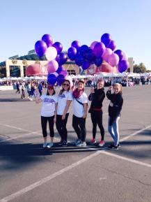 Volunteering, Alzheimers Walk